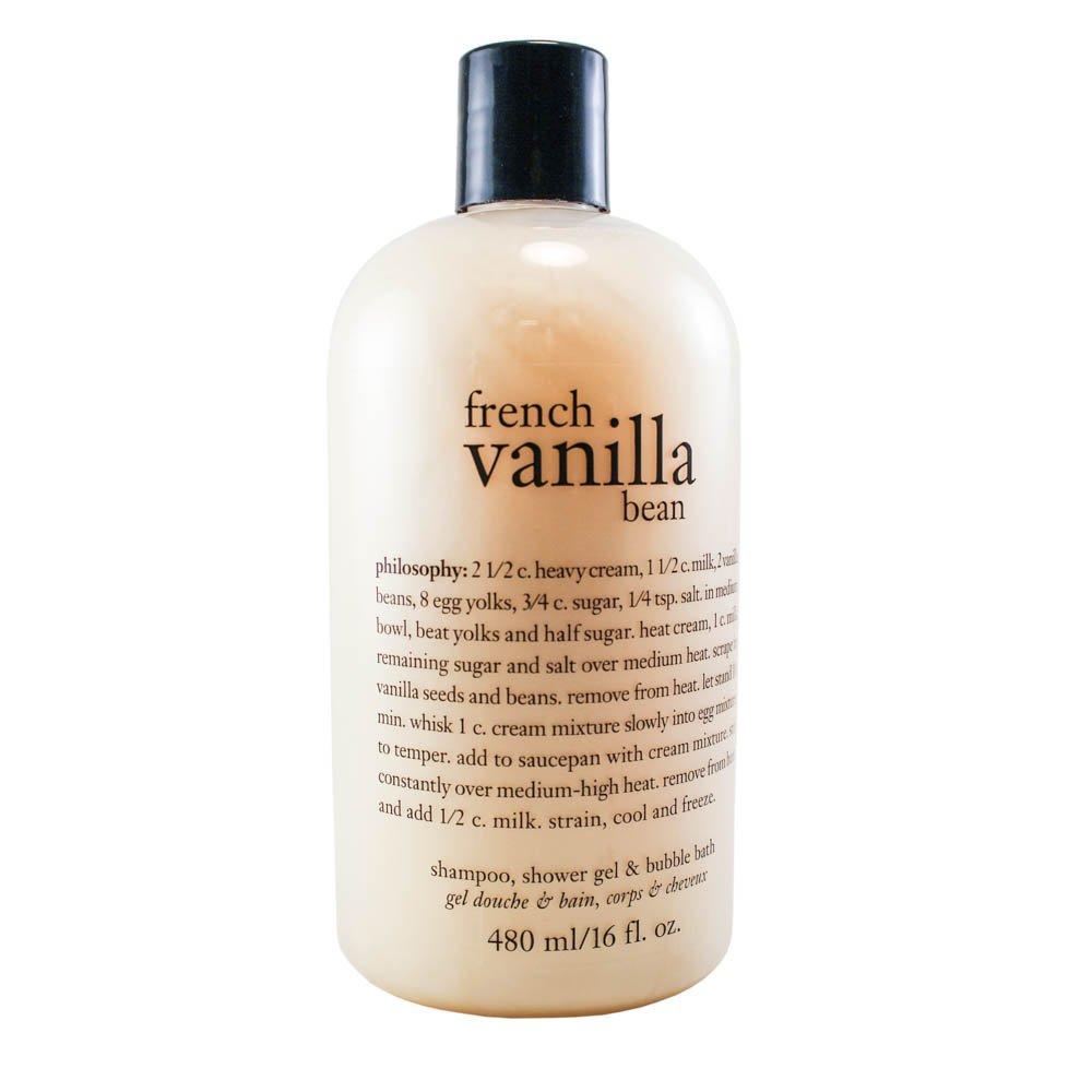 Amazon Philosophy French Vanilla Bean 16oz 3 In 1 Shampoo
