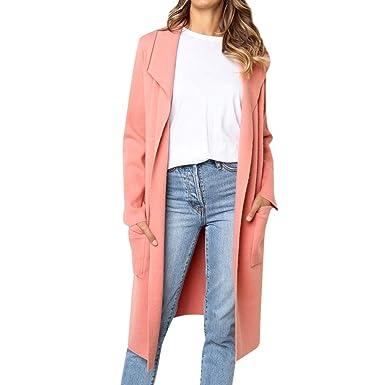 Suit Suit Femme Chic Manteau Veste Koly D'affaires D'affaires Longue Hiver Blazer 87aw6q5