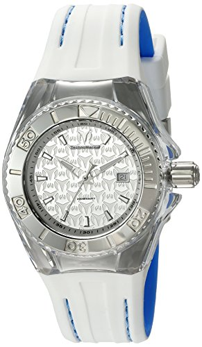 Technomarine Women's 'Cruise' Swiss Quartz Stainless Steel and Silicone Watch, Color:Two Tone (Model: TM-115155)
