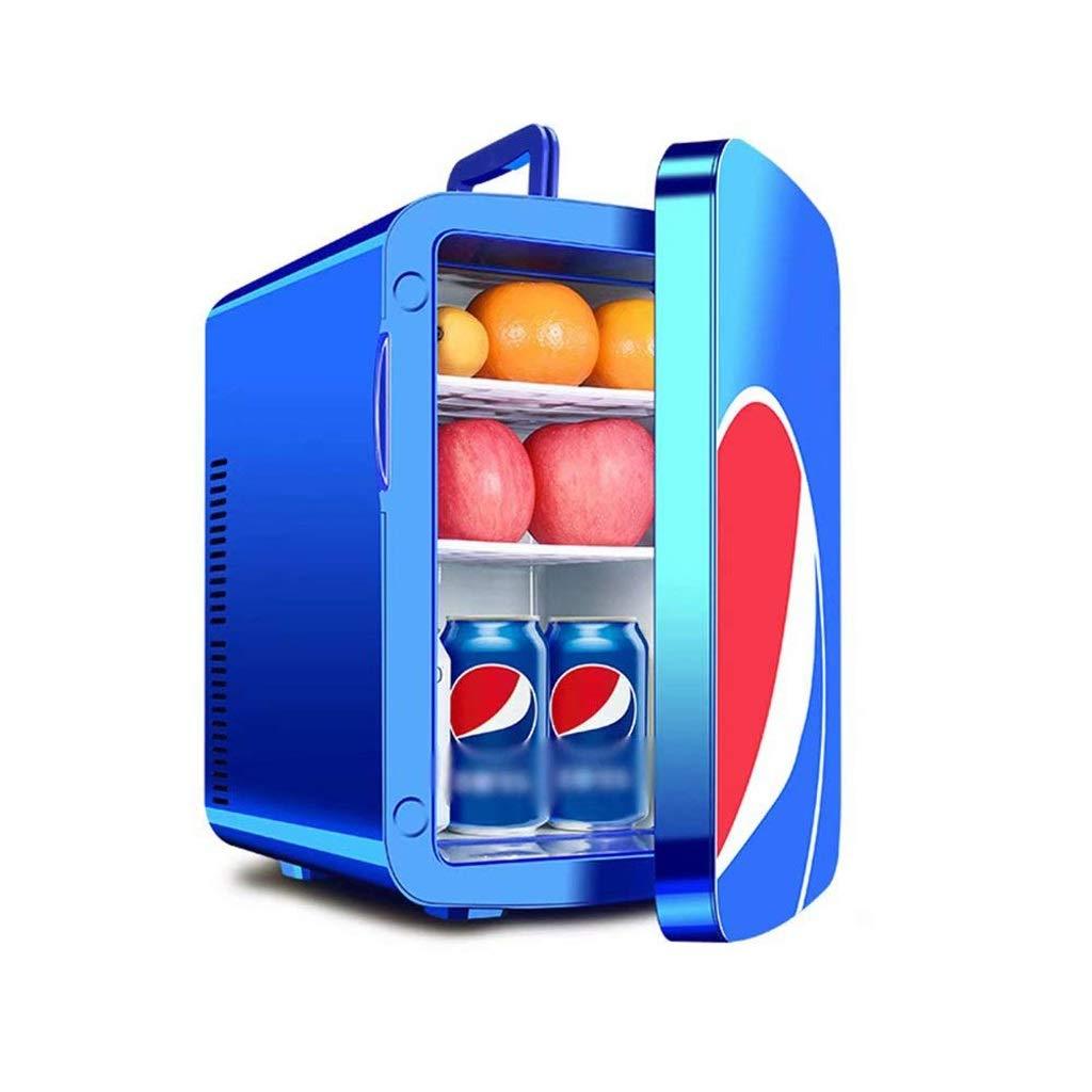 LSLMCS Mini Drinks Fridge Car Refrigerator 15l Refrigerators Small Household Dormitory Home Dual-use Student Single Door Freezer Travel Refrigerator by LSLMCS