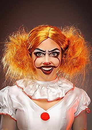 Magic Box Peluca para Mujer New It Clown Style Auburn ...