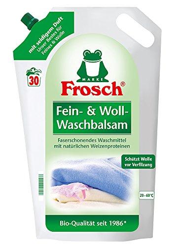 Frosch Fein & Woll Waschmittel, 5er Pack (5 x 18 Waschladungen)