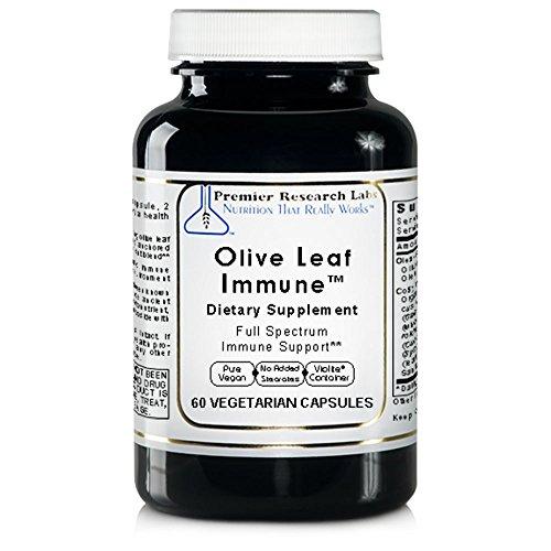 Olive Leaf Immune TM, 60 Capsules, Vegan Product – Olive Leaf Extract Formula for Full Spectrum Immune Support Review