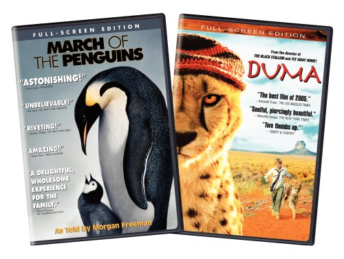 DVD : March of the Penguins & Duma (Side By Side Packaging, Widescreen, 2 Disc)