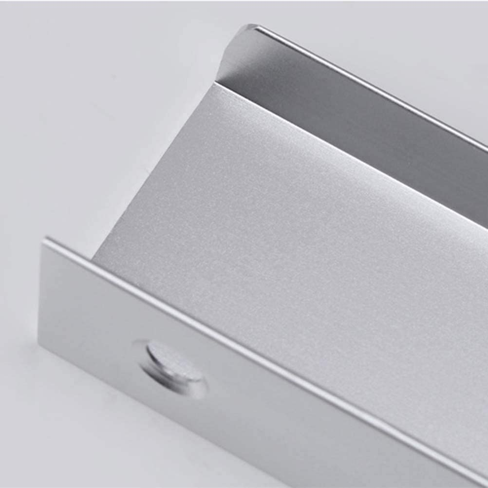 Heavy Duty Modern Simple Silver Invisible Handle Tab Pull For Kitchen Cabinet Free Of Sharp Edge Frolahouse 8 Pcs Aluminum Metal Brushed Sliding Door Handles Cc 64mm Finger Edge Pull Knobs Handles