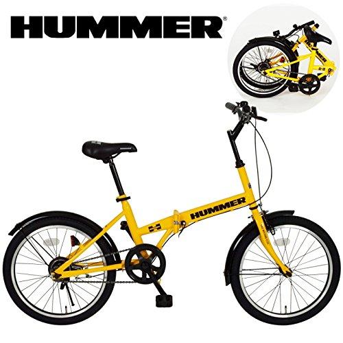 折りたたみ自転車 折り畳み自転車 20インチ HUMMER FDB20R MG-HM20R B01DQZN9SA