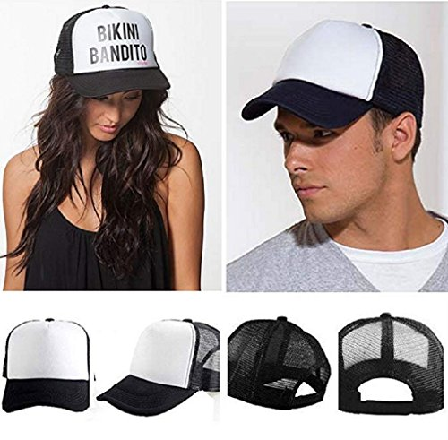 Custom Breathable Trucker Mesh Hat,Adjustable Snapback Hat for Men & Women for Leisure and Sport by NAIVEA (Image #6)