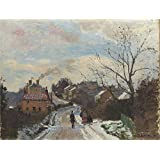 Canvas Prints Of Oil Painting ' Camille Pissarro - Fox Hill, Upper Norwood,1870 ' , 8 x 11 inch / 20 x 27 cm , High Quality Polyster Canvas Is For Gifts And Bed Room, Foyer And Nursery Decoration, HD