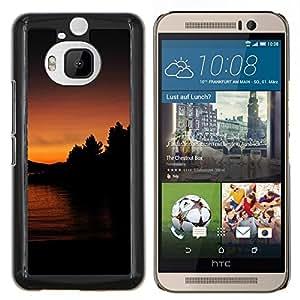Stuss Case / Funda Carcasa protectora - Lago Sunset - HTC One M9Plus M9+ M9 Plus