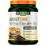 SDC Nutrition About Time Protein Pancake Mix, Chocolate Chip, 1.5 Pound (Packaging may vary)