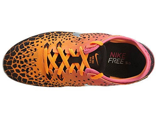 Nike Womens Free 5.0 Tr Fit 5 Prt Orange