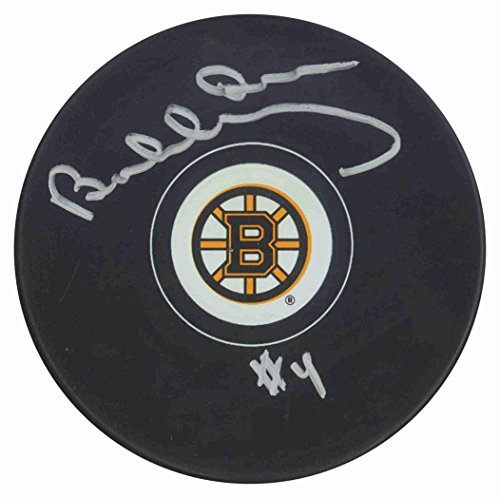 Bobby Orr Autographed Puck - Signed Bobby Orr Hockey Puck - B Logo - Autographed NHL Pucks