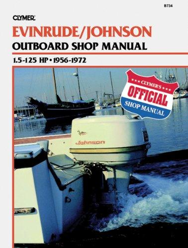 Clymer J//E 1.5 125HP 56 72 Manual