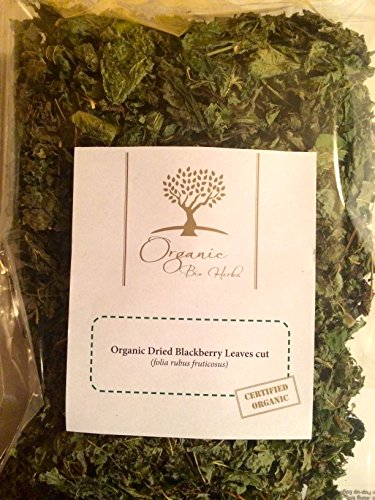 Organic Bio Herbs-Organic Dried Blackberry Leaves Whole (Folia Rubus Fruticosus)2 (Blackberry Leaf Tea)