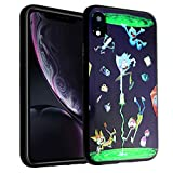 iPhone XR TPU Case CASEVEREST 3D Print Design Slim Fit Cover Rick and Morty Portal