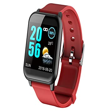 Baoblaze Montre Connectée Bracelet Intelligent Smartwatch Homme Femme Enfant Fille Smart Watch Android iOS Sport Running