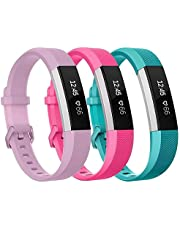 """GOSETH for Fitbit Ace Strap (5.5""""-6.7""""), Newest Adjustable Soft TPU Sport Strap Replacement Bands for Fitbit Ace and Fitbit Alta HR Fitness Smartwatch [Just for Kids] (Black)"""