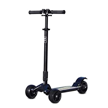 GK Adulto Adolescente Scooter Plegable para Niños Altura Ajustable 3 Ruedas City Kick Scooter para Niños