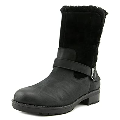 Vionic Womens Rosa Boot Black Size 5