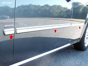 QAA fits 2005-2008 Dodge Magnum 4 Piece Stainless Rocker Panel Trim On The Rocker 2.5 Width TH45920