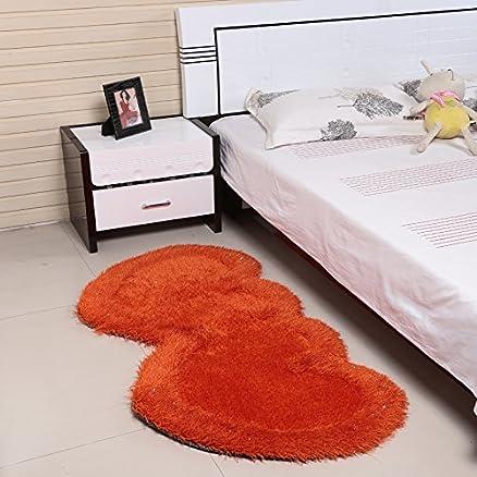 Ustide Fluffy Hair Floor tappeti per camera da letto 2 tappeto ...