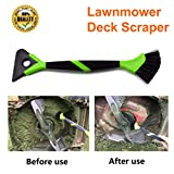 Lawn mower deck scraper brush mower cleaner mower deck brush tractor cleaning tools 16 inches length