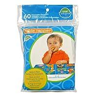 Neat Solutions Tapa desechable para cubrir la mesa de Neat-Wear - Manteles individuales en un paquete reutilizable para bebés y niños, Protección contra gérmenes en el camino, Diseño neutro de género Enseña números, palabras y características