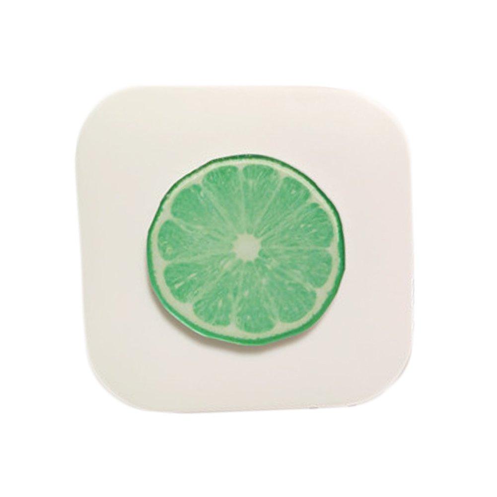 Fruit Style Eyekan Contact Lens Case Lenses Holder Box Travel Kit Case Green