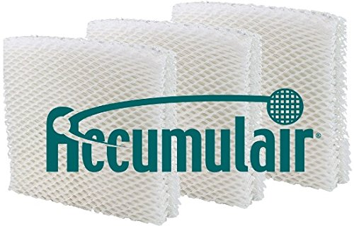 Duracraft AC-818 / AC-819 Humidifier Wick Filter 3 Pack (Aftermarket) by Accumulair