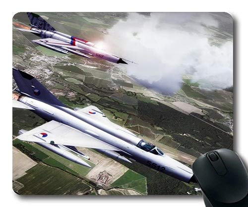 Military Aircraft Pictures Free,Gaming Mouse pad,Fighter Workout,Mouse Pad with Stitched Edges