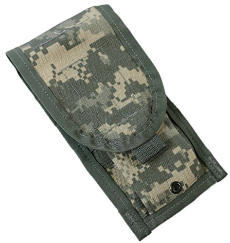 Double Ammo Pouch (MOLLE II Official US Military Army ACU Molle II M4 2 Double Mag Ammo Pouch (ACU Camouflage))
