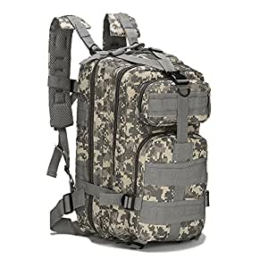 Amazon.com   Eyourlife Military Tactical Backpack Small Rucksacks ... 0a9f17f29