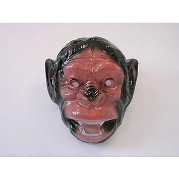 Máscara máscara de gorila Mono de peluche de mono Chimpancé Máscara Máscara de peluche gorila de