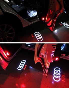 4 St/ück Autot/ür Logo T/ürbeleuchtung Einstiegsleuchte Projektion Licht