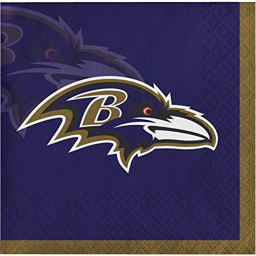 Baltimore Ravens Beverage Napkins, 48 ct