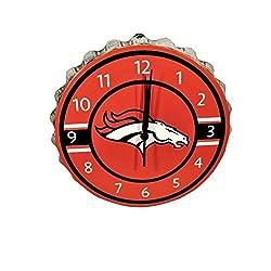 FOCO Denver Broncos Bottlecap Clock