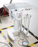 Vinmax 4-Hole Dental Mobile Cart Portable