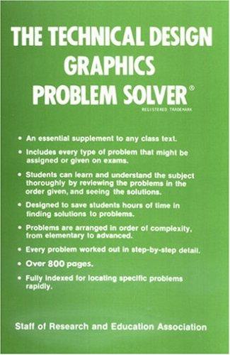 Technical Design Graphics Problem Solver (Problem Solvers Solution Guides)