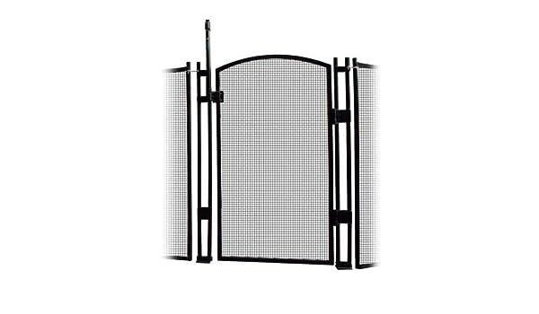 visiguard autocierre/Latching piscina valla de seguridad infantil puerta 4 pies de alto y 12 pies de largo: Amazon.es: Jardín