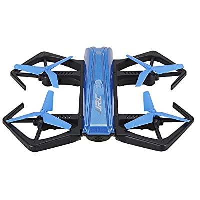Goolsky JJR/C H43WH Wifi FPV Drone with 720P HD Camera Headless Mode&G-sensor&Altitude Hold 2.4GHz 4CH 6-Axis Gyro RC Quadcopter Includes 3 batteries by Goolsky