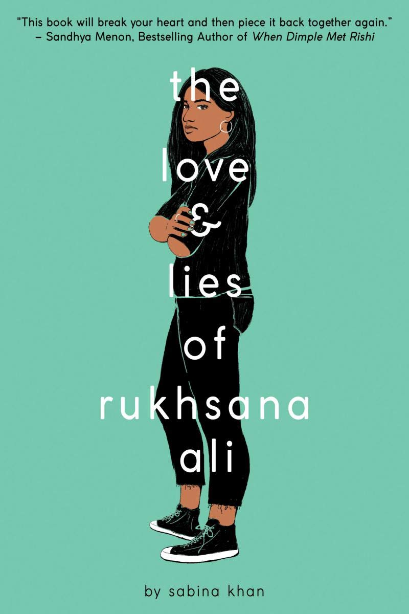 Light blue book cover with a Bengali girl wearing black in profile.