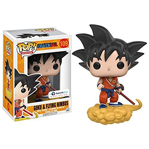 Funko Pop Animation Dragonball Orange Suit Goku and Flying Nimbus Exclusive Vinyl Figure