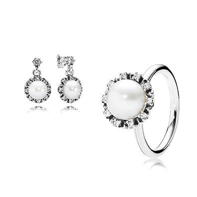 d5eade3c1 ... shopping original pandora gift set 1 sparkling pearl ring 190916p 52  and 1 sparkling pearl 4bd6e