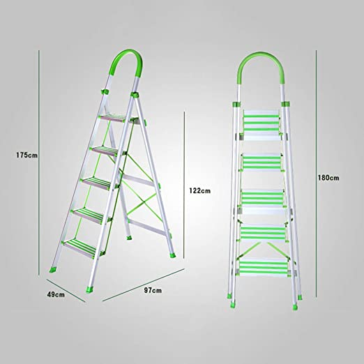 Yang baby Escalera Plegable de Aluminio Escalera de Aluminio ...