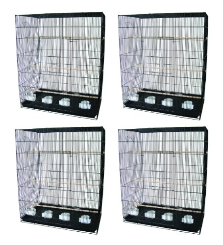 YML Large Breeding Cages, Lot of 4, Black