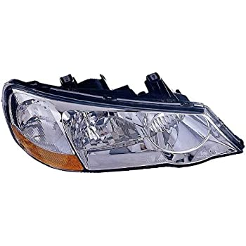 Amazoncom Depo RUS Acura TL Passenger Side Replacement - Acura tl headlight replacement