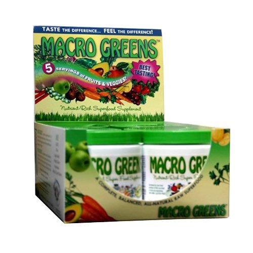 MacroLife Naturals Macrolife Naturals Macro Green Bar, 2 Ounce by MacroLife Naturals