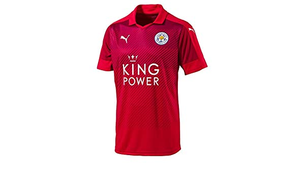 64297e193 Amazon.com : PUMA Leicester City Away Jersey [Red] (S) : Sports & Outdoors