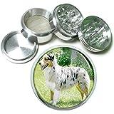 Dog Australian Shepherd 01 4Pc Aluminum Grinder