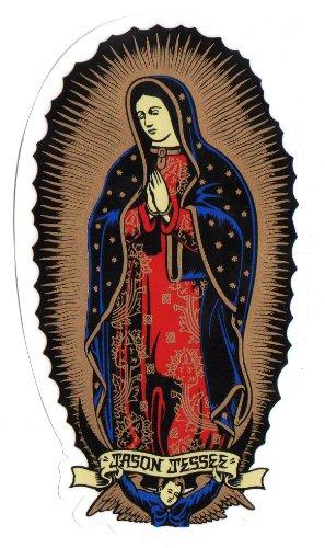 "Neu! Santa Cruz Jason Jessee Skateboard-Sticker ""Guadalupe"""